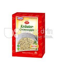 Produktabbildung: Dr. Oetker Kräutercremesuppe