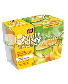 Produktabbildung: Schwartau Fruit2day zum Löffeln Banane - Apfel 400 g