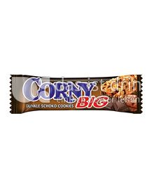 Produktabbildung: Schwartau Corny BIG Dunkle Schoko-Cookies 50 g