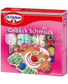 Produktabbildung: Dr. Oetker 4x Gebäck Schmuck 100 g