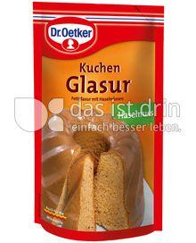 Produktabbildung: Dr. Oetker Kuchen Glasur Haselnuss 125 g