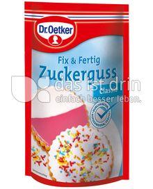 Produktabbildung: Dr. Oetker Fix & Fertig Zuckerguss Classic 125 g