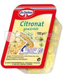 Produktabbildung: Dr. Oetker Citronat 100 g