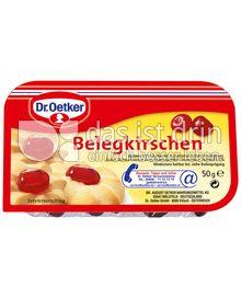 Produktabbildung: Dr. Oetker Echte Belegkirschen 50 g