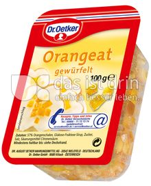 Produktabbildung: Dr. Oetker Orangeat 100 g