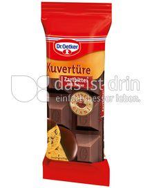 Produktabbildung: Dr. Oetker Kuvertüre Zartbitter 150 g