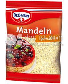 Produktabbildung: Dr. Oetker Mandeln gemahlen 100 g