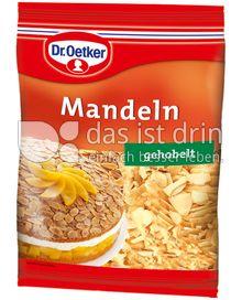 Produktabbildung: Dr. Oetker Mandeln gehobelt 100 g