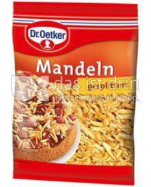 Produktabbildung: Dr. Oetker Mandeln gesplittert 100 g