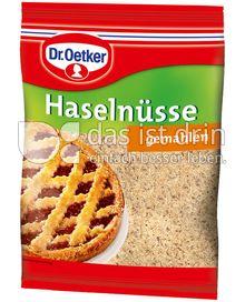 Produktabbildung: Dr. Oetker Haselnüsse gemahlen 100 g