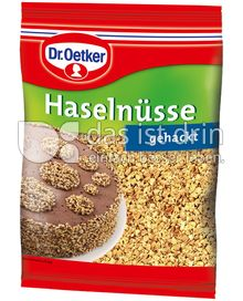Produktabbildung: Dr. Oetker Haselnüsse gehackt 100 g