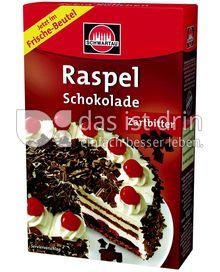 Produktabbildung: Schwartau Raspel Schokolade Zartbitter 100 g
