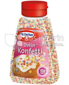 Produktabbildung: Dr. Oetker Dekor Konfetti 100 g