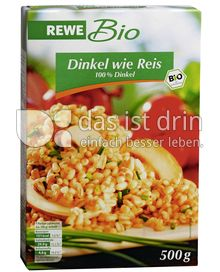 rewe bio dinkel wie reis 324 5 kalorien kcal und. Black Bedroom Furniture Sets. Home Design Ideas