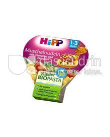 Produktabbildung: HiPP Muschelnudeln mit Tomaten und Zucchini 260 g