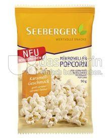 Produktabbildung: Seeberger Mikrowellen-Popcorn Karamell 90 g