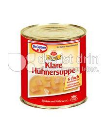Produktabbildung: Dr. Oetker Royal Klare Hühnersuppe