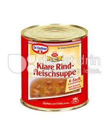 Produktabbildung: Dr. Oetker Royal Klare Rindfleischsuppe
