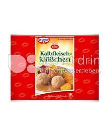 Produktabbildung: Dr. Oetker Kalbfleischklößchen