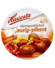 Produktabbildung: Hawesta Herings-Röllchen feurig-pikant 200 g