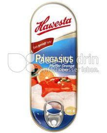 Produktabbildung: Hawesta Pangasius in Pfeffer-Orange Creme 125 g