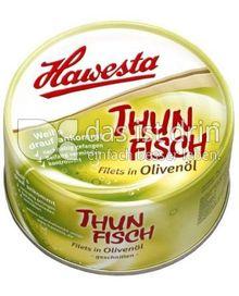 Produktabbildung: Hawesta Thunfischfilets in Olivenöl 185 g