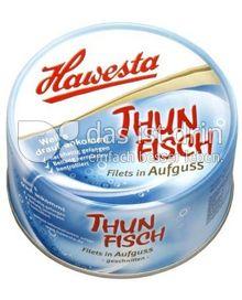 Produktabbildung: Hawesta Thunfischfilets in Aufguss 185 g