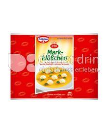 Produktabbildung: Dr. Oetker Markklößchen