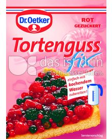 dr oetker tortenguss fix rot 376 0 kalorien kcal und inhaltsstoffe das ist drin. Black Bedroom Furniture Sets. Home Design Ideas