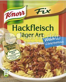Produktabbildung: Knorr Fix Hackfleisch Jäger Art 36 g
