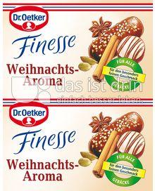 Produktabbildung: Dr. Oetker Finesse Weihnachts-Aroma 9,6 ml