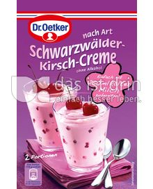 Produktabbildung: Dr. Oetker Schwarzwälder-Kirsch-Creme 59 g