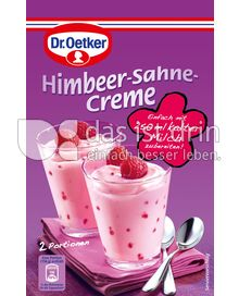 Produktabbildung: Dr. Oetker Himbeer-Sahne-Creme