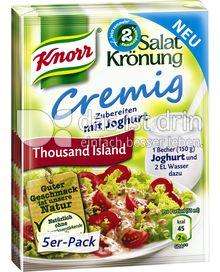 Produktabbildung: Knorr Salatkrönung Cremig Thousand Island 5 St.