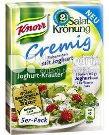 Produktabbildung: Knorr Salatkrönung Cremig Joghurt-Kräuter 5 St.