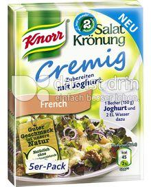 Produktabbildung: Knorr Salatkrönung Cremig French 5 St.