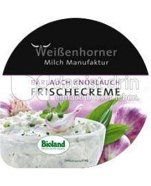 Produktabbildung: Weißenhorner Frischecreme Bärlauch Knoblauch 150 g