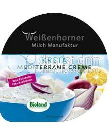 Produktabbildung: Weißenhorner Mediterrane Creme Kreta 125 g