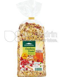 Produktabbildung: Schneekoppe Cranberry Dinkel Müesli 750 g