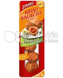 Produktabbildung: Zimbo Mini Snacks gefüllte Fleischbällchen Mediterran 90 g