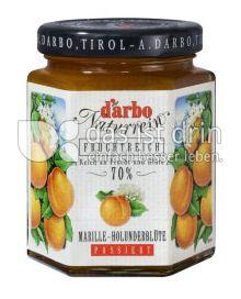 Produktabbildung: D'arbo Marille-Holunderblüte 200 g