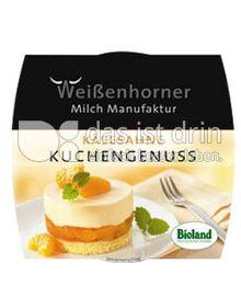 Produktabbildung: Weißenhorner Kuchengenuss Käsesahne 100 g