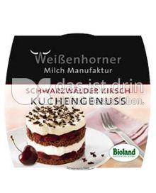 Produktabbildung: Weißenhorner Kuchengenuss Schwarzwälder Kirsch 100 g