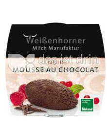 Produktabbildung: Weißenhorner Mousse au Chocolat Noir 80 g