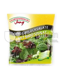 Produktabbildung: Gartenfrisch Jung Junge Pflücksalate mit Baby Spinat 150 g