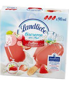 Produktabbildung: Landliebe Eiscreme am Stiel Erdbeere 270 ml