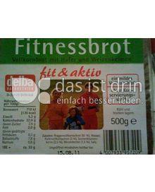 Produktabbildung: delba Backbetrieb fit & aktiv Fitnessbrot 500 g