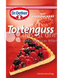 Produktabbildung: Dr. Oetker Ungezuckerter Tortenguss rot 3 St.