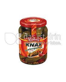 Produktabbildung: Hengstenberg KNAX scharfe Gurken 720 ml