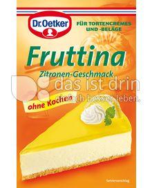 Produktabbildung: Dr. Oetker Fruttina Zitronen-Geschmack
